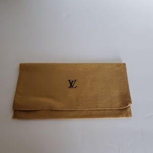 Authentic Louis Vuitton dust bag for wallet